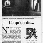 Le Devoir, 20 mai 1995